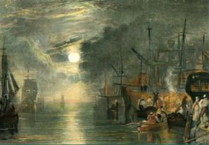 Shields on River Tyne (Restrike Etching) by Joseph Mallord William Turner
