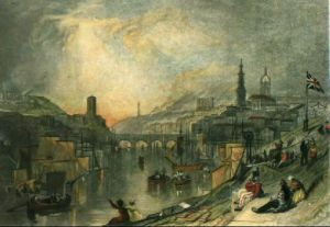 Newcastle on Tyne (Restrike Etching) by Joseph Mallord William Turner