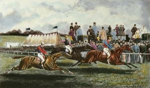 Favourite Walks in, The (Restrike Etching) by TNH Walsh