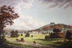 Godmersham Park (Restrike Etching) by William Watts