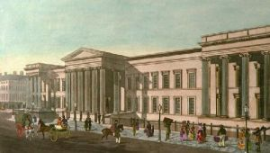 General Post Office, London (Restrike Etching) by Francis Bate