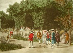 Boules (Restrike Etching) by Anonymous