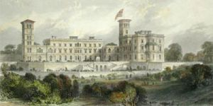 Osborne House (Restrike Etching) by Thomas Cubitt