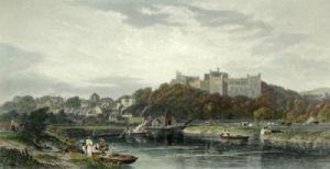 Arundel Castle (Restrike Etching) by Edward Duncan