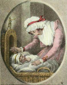 Parental Fondness (Restrike Etching) by Samuel Shelley