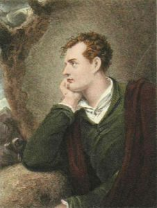 George Lord Byron (Restrike Etching) by Richard Westall