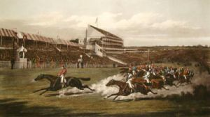 Winning Post (Restrike Etching) by Henry Alken