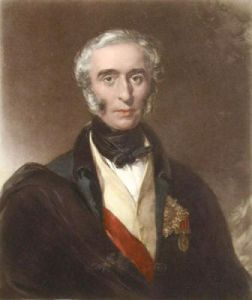 General Sir William Nott (Restrike Etching) by J. Deffett Francis