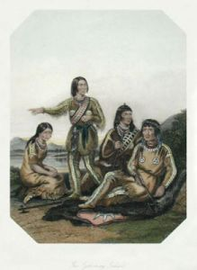 Indians (Restrike Etching) by Anonymous