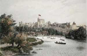 Windsor (Restrike Etching) by Anonymous