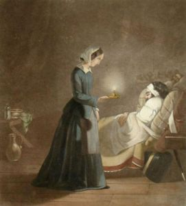Florence Nightingale (Restrike Etching) by J. Butterworth