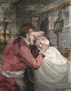 The Blunt Razor (Restrike Etching) by Edward Bird