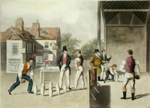Skittles (Restrike Etching) by A. Player
