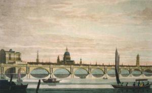 Waterloo Bridge (Restrike Etching) by Anonymous