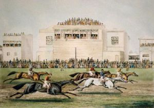 Ascot (Restrike Etching) by James Pollard