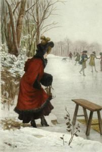 Winter - French Scenes (Restrike Etching) by Albert Ludovici