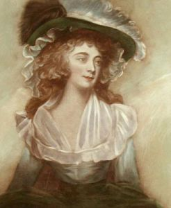 Portrait of a Lady (Restrike Etching) by Anonymous