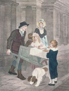 London Cries, Gingerbread (Restrike Etching) by Francis Wheatley