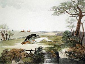Coursing Pl. II (Restrike Etching) by Dean Wolstenholme