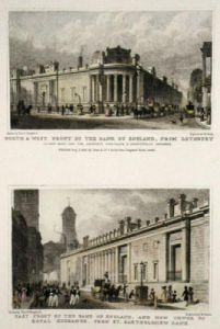 Bank of England (Restrike Etching) by Thomas H. Shepherd