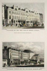 Coliseum, Regent Street (Restrike Etching) by Thomas H. Shepherd
