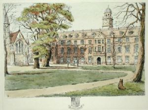 Shrewsbury Pl. I (Restrike Etching) by Anonymous