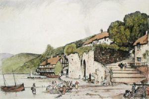 Clovelly (Restrike Etching) by Anonymous