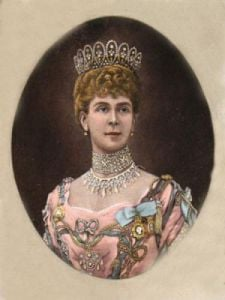 Queen Alexandra (Restrike Etching) by Anonymous