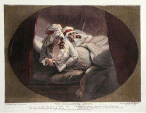The Delightful Story (Restrike Etching) by George Morland