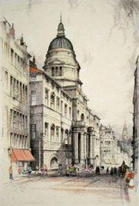 Edinburgh (Restrike Etching) by Anonymous