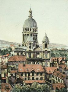 Notre Dame, Boulogne (Restrike Etching) by Anonymous