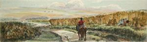 Haymaking (Plate 2) (Restrike Etching) by Anonymous