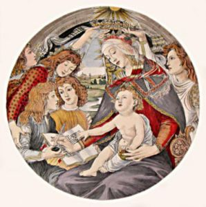 Madonna of the Magnificat (Restrike Etching) by Sandro Botticelli