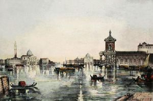 Venice (Restrike Etching) by Anonymous