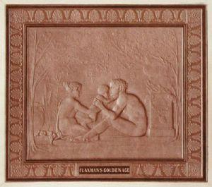Flaxman's Golden Age (Restrike Etching) by John Flaxman