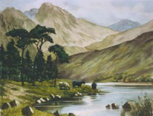 Loch Etive (Restrike Etching) by Anonymous