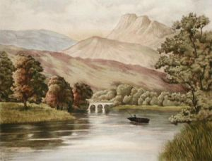 Loch Ay (Restrike Etching) by Anonymous