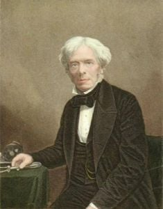 Michael Faraday FRS DCL (Restrike Etching) by Anonymous