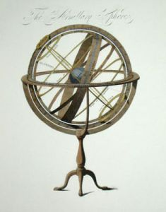 Armillary Sphere (Restrike Etching) by Anonymous