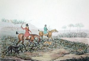 Finding (Restrike Etching) by Henry Alken