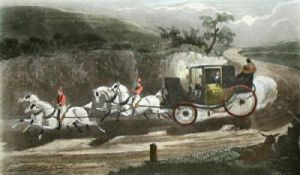 The Road, Pl IV (Restrike Etching) by Henry Alken