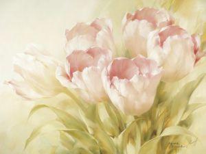 Pink Tulips II by Igor Levashov