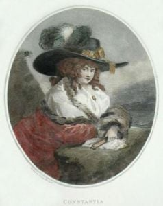 Constantia (Restrike Etching) by George Morland