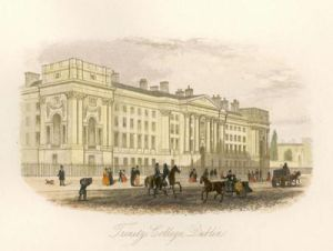Trinity College, Dublin (Restrike Etching) by Anonymous