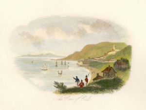 The Cove of Cork (Restrike Etching) by Anonymous