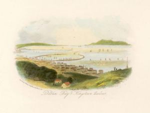 Dublin Bay & Kingstown Harbour (Restrike Etching) by Anonymous