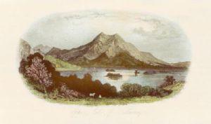 Upperlake of Killarney (Restrike Etching) by Anonymous
