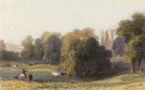 Malahide Castle (Restrike Etching) by Anonymous