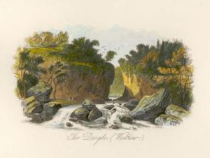 The Dargle, Wicklow (Restrike Etching) by Anonymous