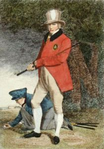 John Taylor - Golfer (Restrike Etching) by Anonymous